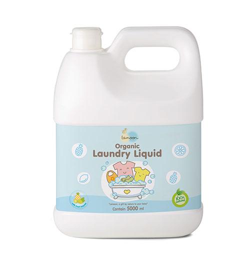 ผลิตภัณฑ์น้ำยาซักผ้าเด็ก ออร์แกนิค 5000 ml.