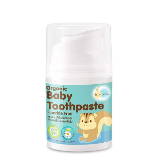 Lamoon Organic Baby Toothpaste